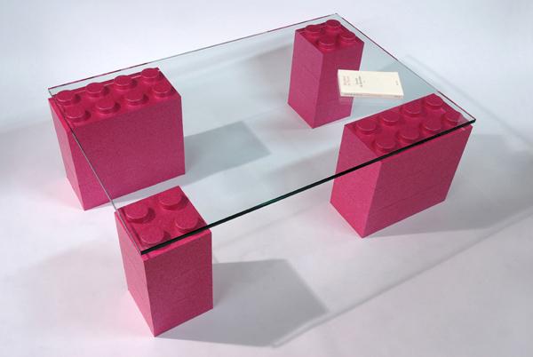 Lego-esque modular furniture