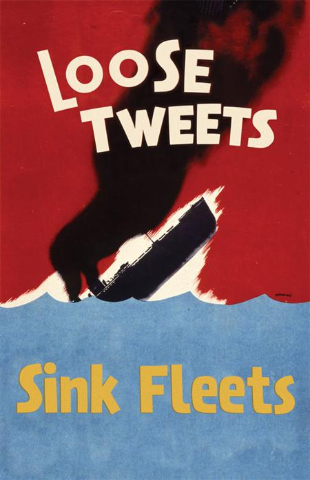 Postmodern propaganda posters