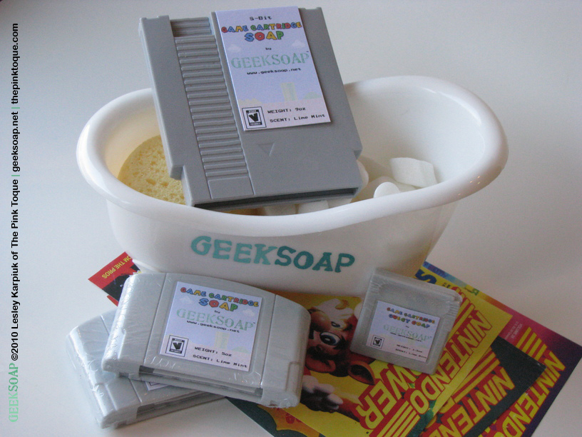 Game Cartridge Soap
