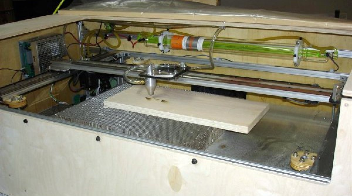 Diy 40w laser cutter make article featured image solutioingenieria Choice Image