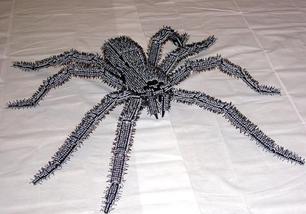Eeek! Giant Lego spider!