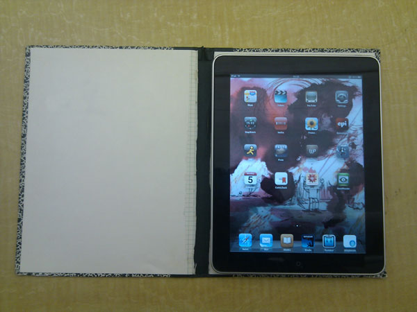 Urban camouflage iPad case