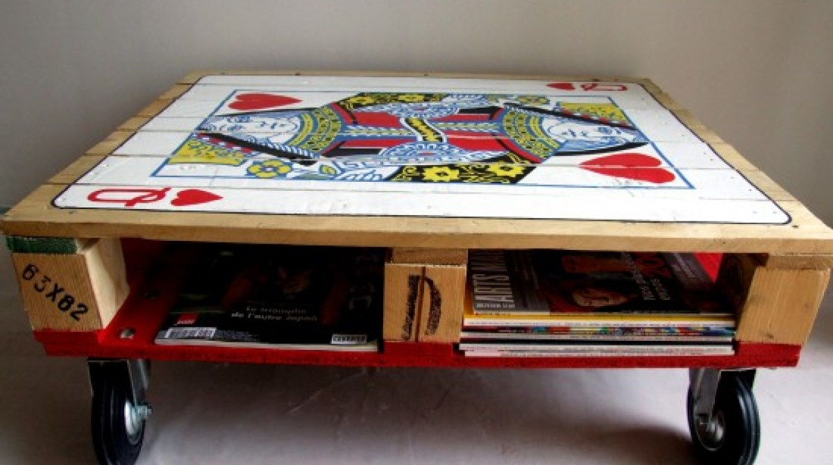 Beautiful hand painted shipping pallet coffee table make article featured image geotapseo Image collections