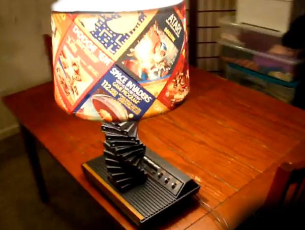 Atari console lamp