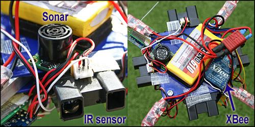 ArduIMU quadcopter drone