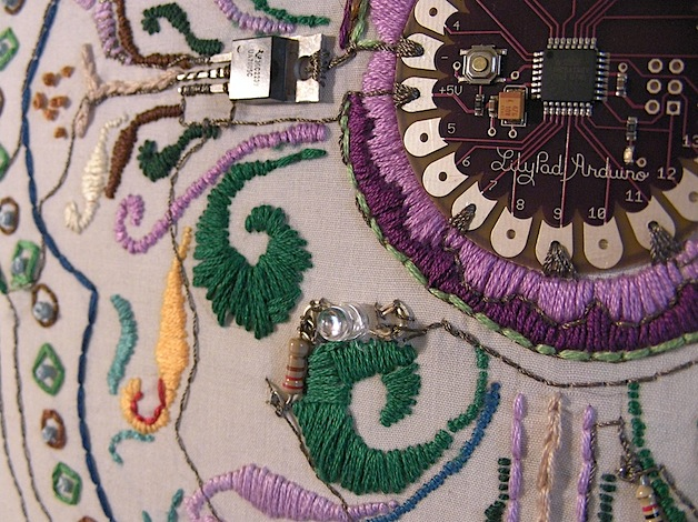 LilyPad Arduino survey researches feminism and HCI