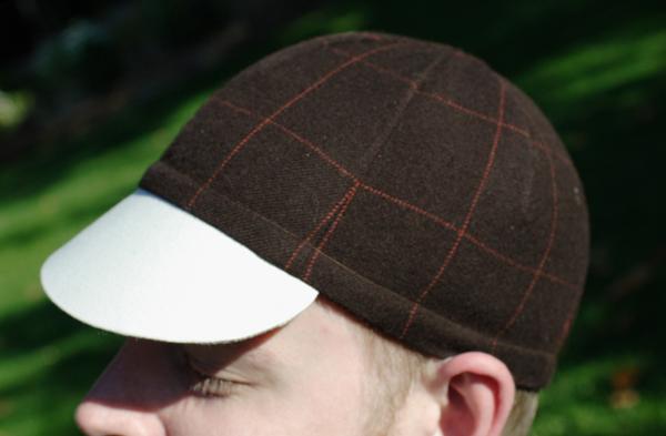 Sew your own bike cap