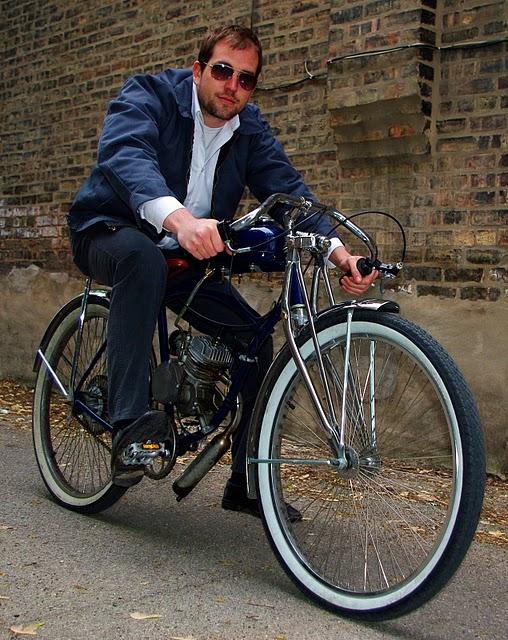 Eric's motorized bike conversion