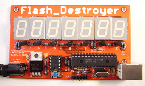 Test your (EEPROM) memory with the Flash Destroyer
