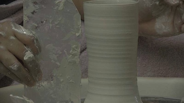 How-To: Use Templates on a Potter's Wheel
