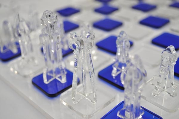 Lasercut chess set