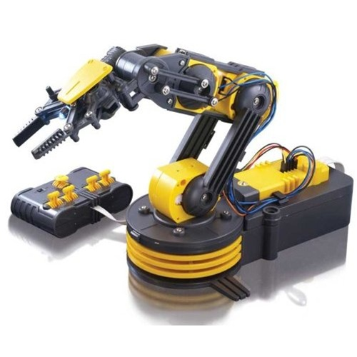 In the Maker Shed: Robotic arm kit