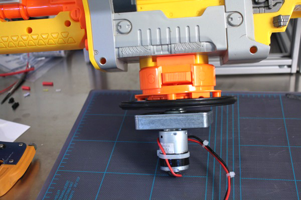 Arduino Nerf sentry gun build: Motorized mount