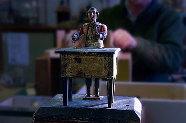 Lost Knowledge: Antique automata