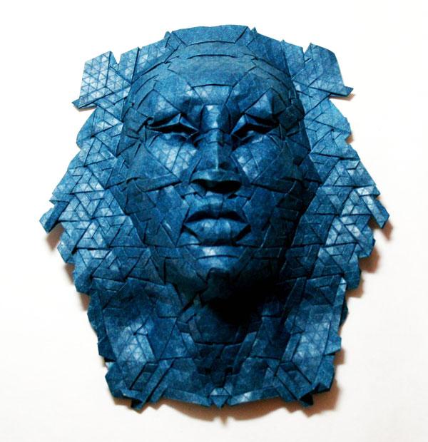 Joel Cooper's Amazing Origami Masks Plus Grid Tutorial