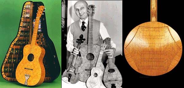 Jack Hall – matchstick luthier
