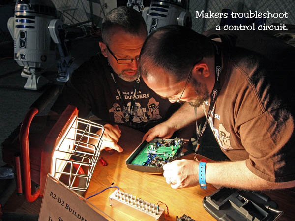 A maker's take on Maker Faire, a story told in slides