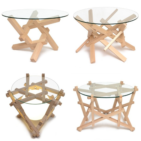 Puzzle table bases