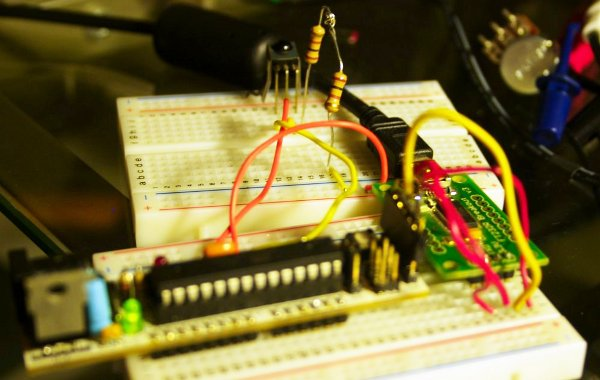 Control an Arduino project using an infrared remote