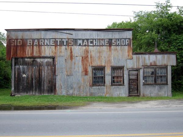Sid Barnett's Machine Shop
