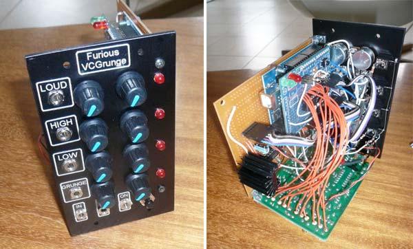 Voltage controlled grunge module