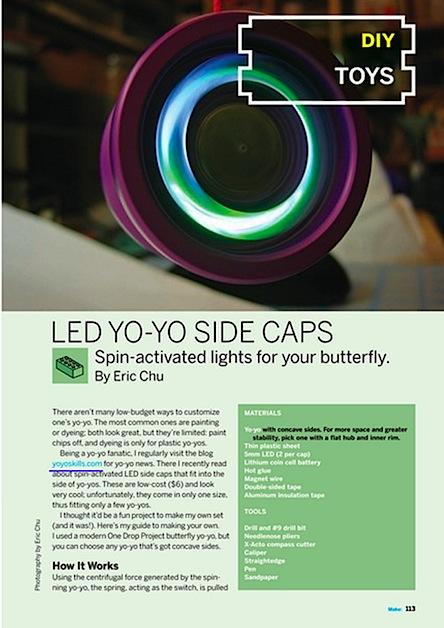 Weekend Project: LED Yo-Yo (PDF)