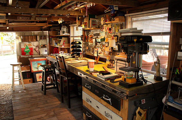 Quot Man Cave Quot Workshop Make