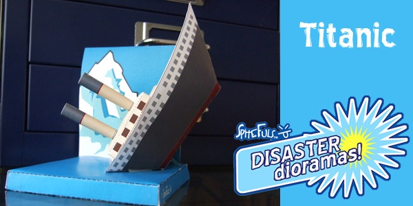 Disaster Dioramas! Your favorite disasters…. now in paper form!