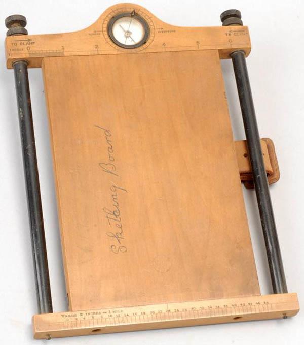"WWI ""Field Sketching Case"""