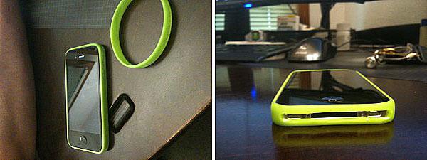 DIY iPhone 4 bumper case