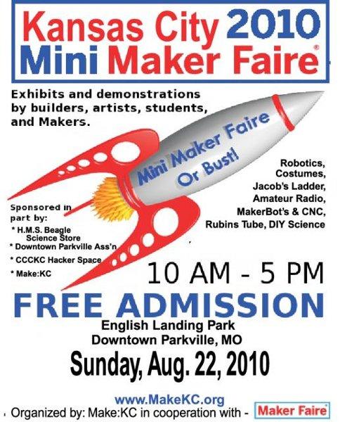 Announcing: Kansas City Mini Maker Faire 2010