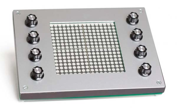 Kaossonome touch-sensitive LED matrix