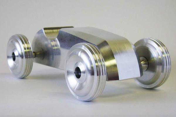 Machined aluminum speedster