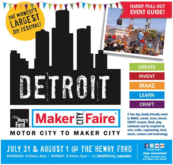 Gates open on Maker Faire Detroit!