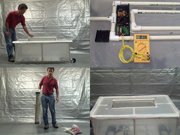 Portable automated greenhouse