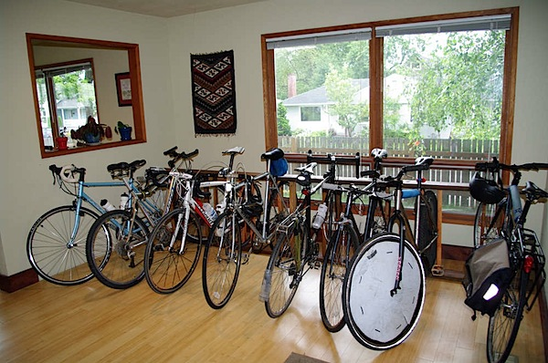How-To: Indoor bike parking