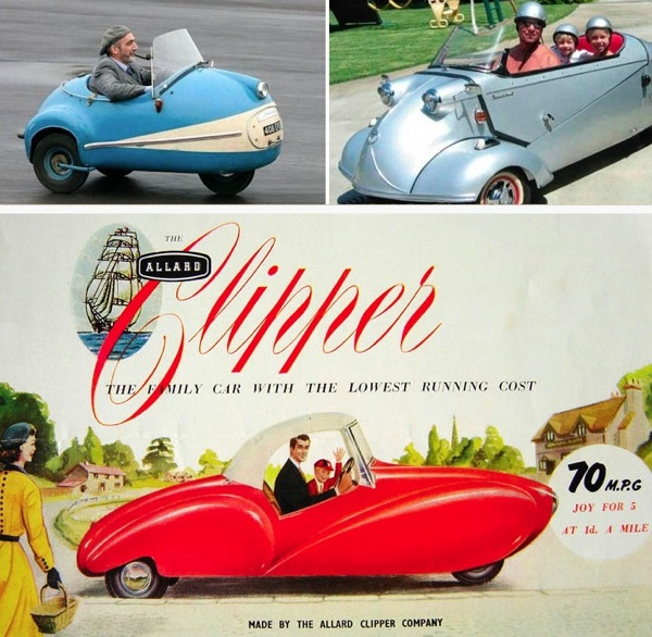 Adorable Micro Cars
