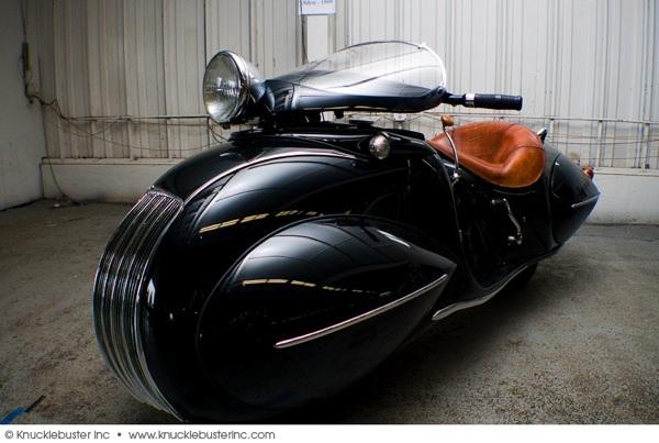 Gorgeous – Frank Westfall's 1930 Art Deco Henderson motorcycle