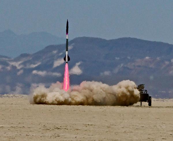 Nexus One/Arduino SmallSat satellite test launch video