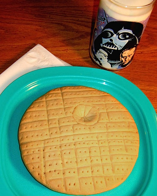 I made one of these Death Star cookies when I was five…