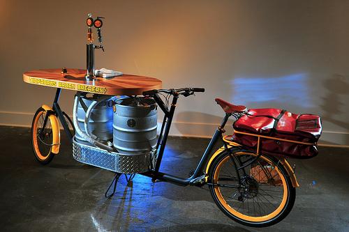 Hopworks Beer Bike