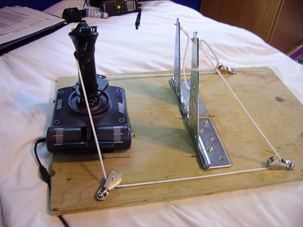 DIY rudder pedals on the cheap