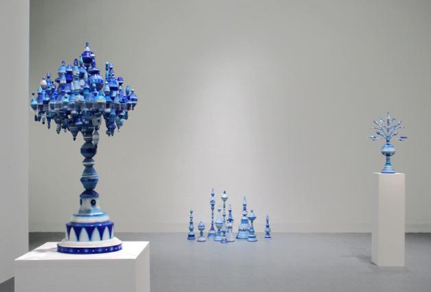 Kirsten Hassenfeld's Blueware