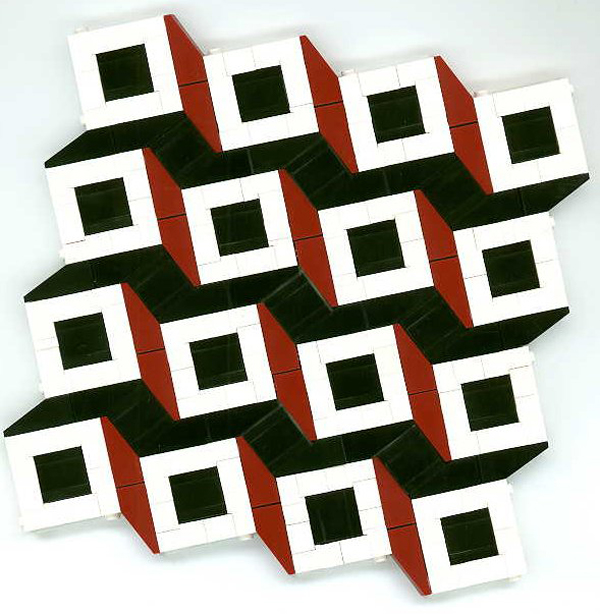 Geometric patterns in Lego
