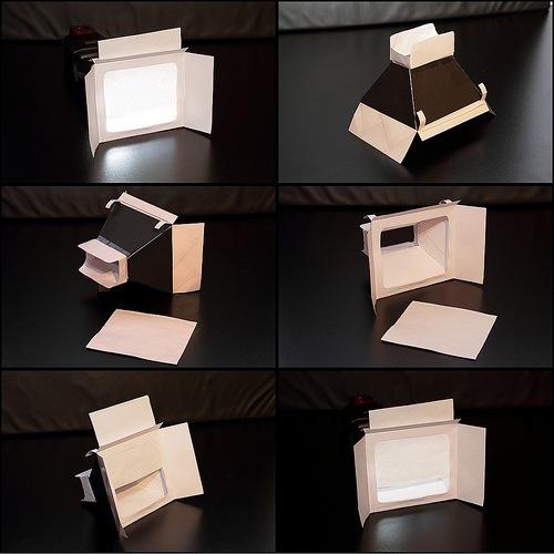 Papercraft softbox