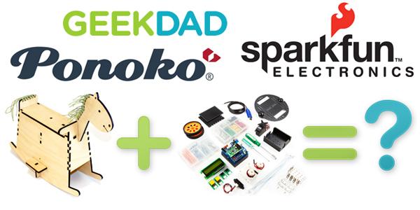 Vote for the Ponoko/Sparkfun/GeekDad contest winner