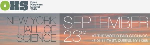 Open Hardware Summit tickets on sale!