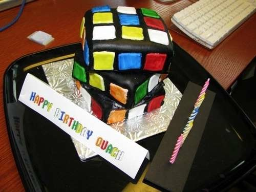 Rubik's Cube Cake(s)