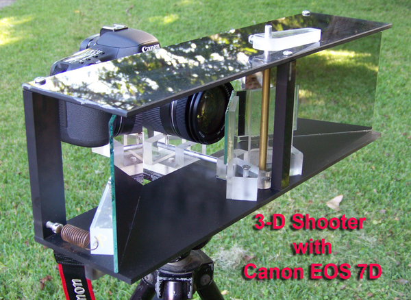 Stereoscopic view splitter