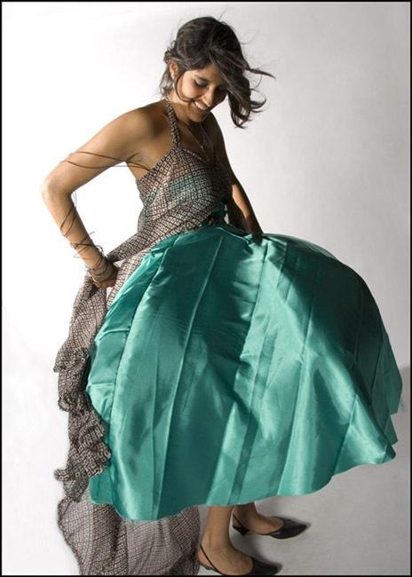 Amisha Gadani's Blowfish Dress